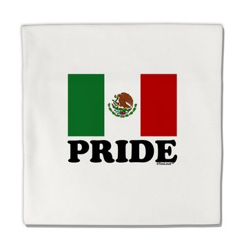 "Mexican Pride - Mexican Flag Micro Fleece 14""x14"" Pillow Sham by TooLoud"