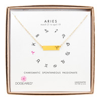 Aries Zodiac Necklace, Gold-Dipped | Dogeared