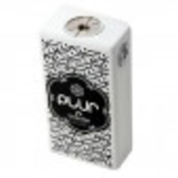 PLUR BOX Mechanical Box Mod White Edition by Deadmodz