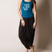 Indian Solid Harem Yoga Pants