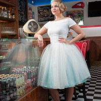 Tulle Wedding Dress By TiCCi Rockabilly