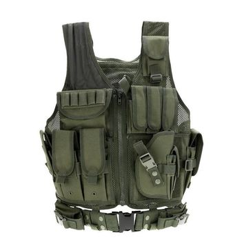 Army Tactical Vest Men's Paintball Airsoft Sport Vests Outdoor Hunting War Game Military Equipment Tactical Vest