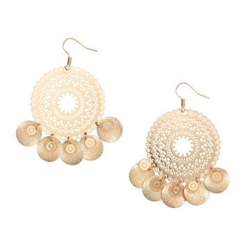 Round Earrings - from H&M