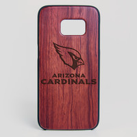 Arizona Cardinals Galaxy S7 Edge Case - All Wood Everything