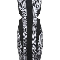 Print Cut Out Bodycon Dress - View All - New In