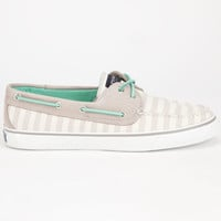 Sperry Top-Sider Bahama Womens Boat Shoes Grey  In Sizes