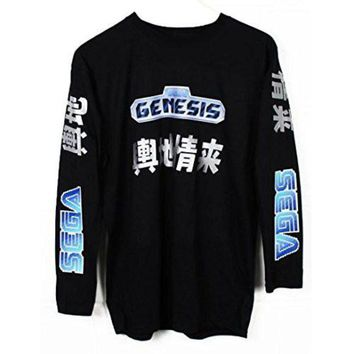 Sega Genesis Japanese Long Sleeve T Shirt