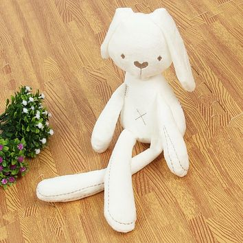 2017 Cute Rabbit Doll Baby Soft Plush Toys For Children Bunny Sleeping Mate Stuffed &Plush Animal Baby Toys For Infants