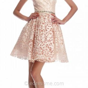 Audrina Floral Cocktail Dresses by Nika