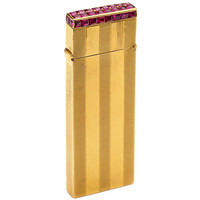 Van Cleef & Arpels A Ruby and Gold Lighter