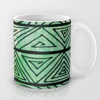 Zentangle Aztect Pattern Mug by Idle Amusement