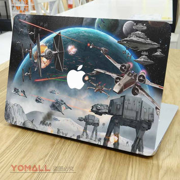 Star Wars Theme Front Cover Skin Laptop Sticker for Apple MacBook Decal Air Pro Retina 11 13 15 Mac Notebook Colorful Sticker