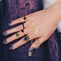 Gift Shiny New Arrival Jewelry Stylish Style Bohemia Vintage Gemstone Ring [11006836047]