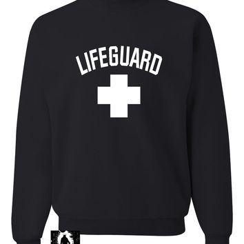 Adult Lifeguard Sweatshirt Crewneck