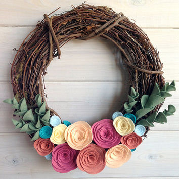 Handmade Door Wreath On Wanelo 13 Diy Hanging Decorations