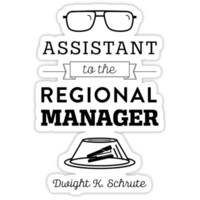 The Office Dunder Mifflin - Assistant to the Regional Manager