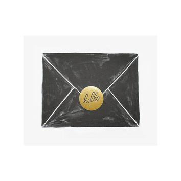 Envelope Illustrated Art Print