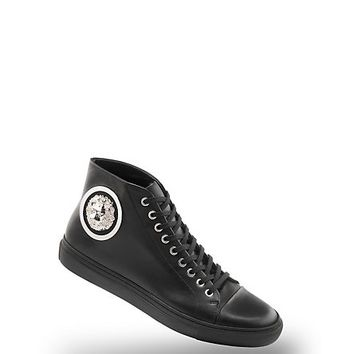 Versace - Floating Lion Head Hi-Top Sneaker