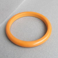Vintage Butterscotch Genuine Bakelite Bangle Bracelet