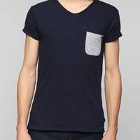 Eleven Paris Speckle V-Neck Tee - Urban Outfitters