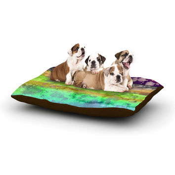 "Ebi Emporium ""California Surf 6"" Teal Purple Dog Bed"