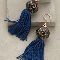 Geodesic Tassel Earrings by Elke Kramer