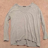 brandy melville gray long sleeve($ 15) - Mercari: Anyone can buy & sell