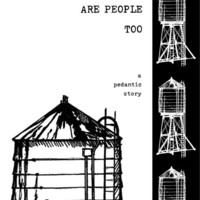 Watertowers Are People Too a photo story zine by pickledcity