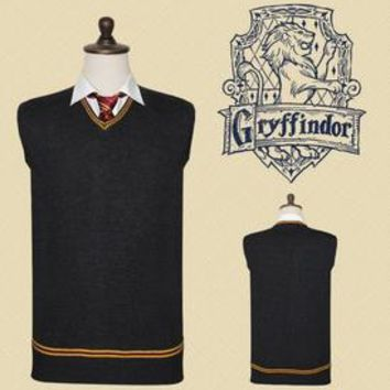 Cosplay Sweater Unisex S-XXL Gryffindor, Hufflepuff, Ravenclaw, Slytherin Tie Optional