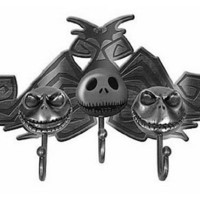 Neca Nightmare Before Christmas Metal Jack Head Key Hook