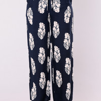 Abriana Pants - Navy