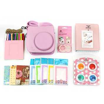 7 in 1 Fujifilm Instax Mini 8 Accessories Bundles (Instax Mini 8 Case/ Mini A...