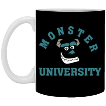 Disney Monsters Inc. Sulley Face Graphic T-Shirt XP8434 11 oz. White Mug