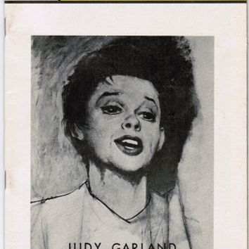 Playbill Judy Garland Who's Who 1967 Theater Memorabilia
