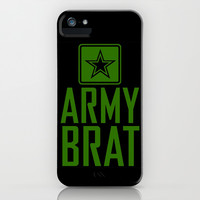 Army Brat iPhone & iPod Case by LookHUMAN