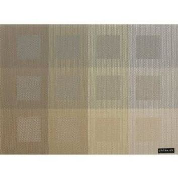 CHILEWICH Engineered Squares Placemats S/4 | Gold