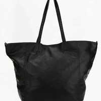 BDG Calder Vegan Leather Tote Bag- Black One