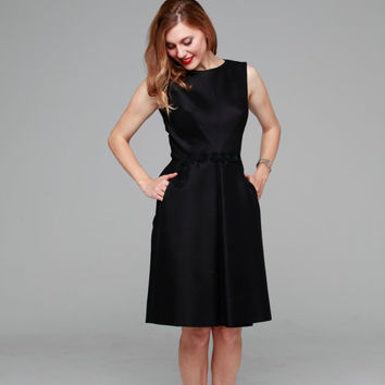 Holly Golightly dress | vintage 1950s dress • Suzy Perette 50s cocktail dress