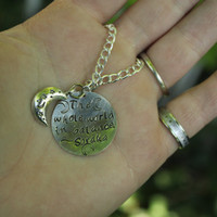 Soraka the Starchild Inspired by League of Legends Quote Necklace