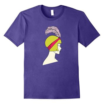 Flapper - Art Deco Girl Artsy Roaring Twenties T-Shirt