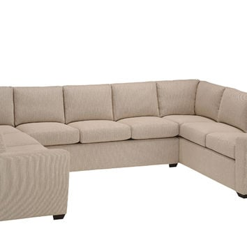 Best sectional sofa with sleeper products on wanelo for U shaped sectional with sleeper sofa