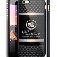 Hot Luxury Cadillac Logo Fit Hard Case For iPhone 6 6s Plus 7 8 Plus X Cover +