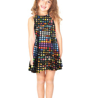 Kids Emoji Skater Dress