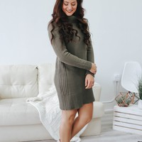 Autumn Dreaming Sweater Dress