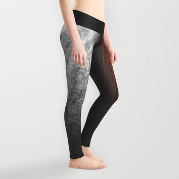 Wooden Marble Leggings by Nicklas Gustafsson | Society6