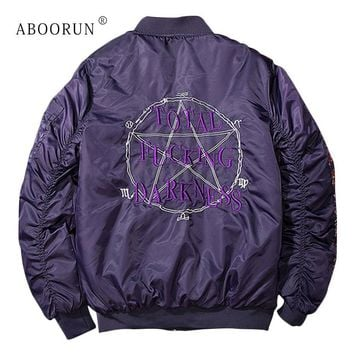 Trendy Dropshipping Suppliers Usa Mens MA1 Bomber Jackets Letter Embroidery Windbreaker Jacket Spring Autumn Coat for Male P9109 AT_94_13