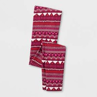Girls' Favorite Printed Leggings - Cat & Jack™ Burgundy