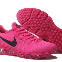 PEAPONNF1 Nike Air Max Tailwind Print Pink & Black Running Shoes Sneakers