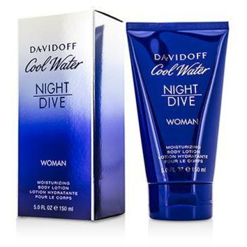 Davidoff Cool Water Night Dive Moisturizing Body Lotion Ladies Fragrance