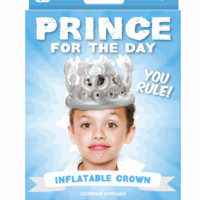 Prince For A Day | Inflatable Crown